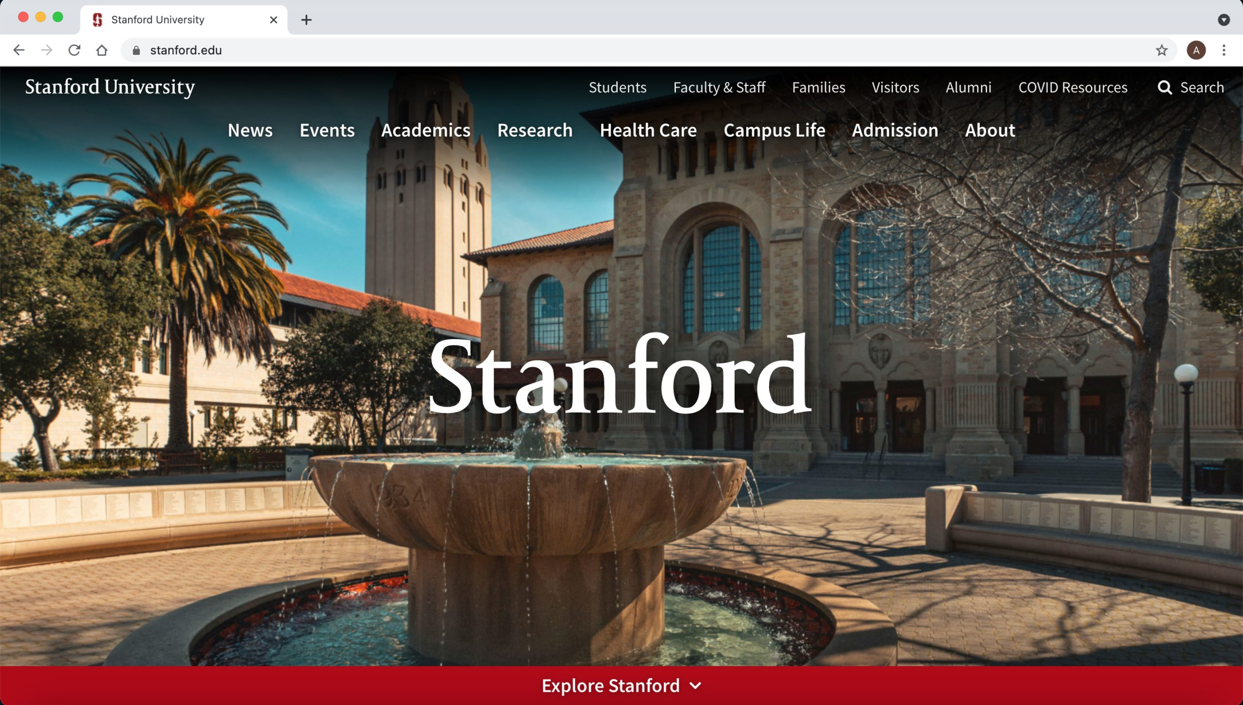 Stanforder-Drupal-website-example